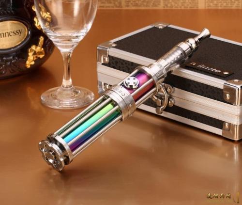 电子烟行业的点胶工艺解决_全自动视觉点胶机